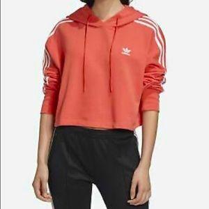 Adidas Originals cropping hoodie. NWT